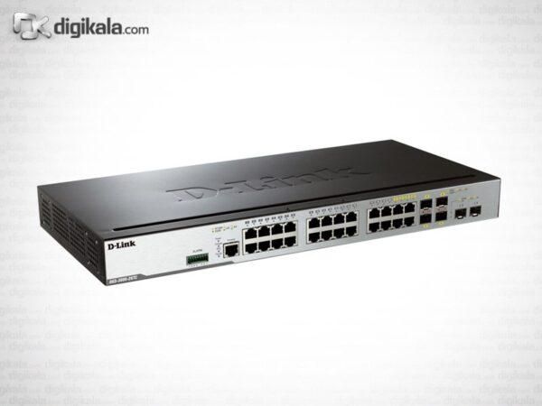 سوییچ قابل مدیریت 26 پورت گیگابیت دی-لینک DGS-3000-26TC