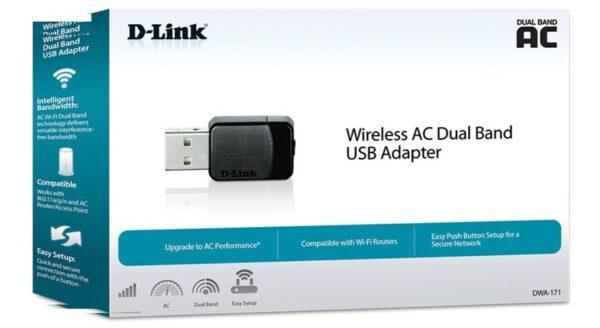 کارت شبکه بی سیم USB دی لینک مدل DWA-171
